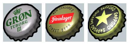 精致啤酒盖PNG网页图标