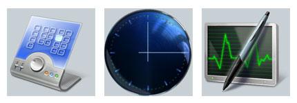 时钟办公网页图标