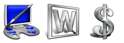 金属银质感系列系统图标