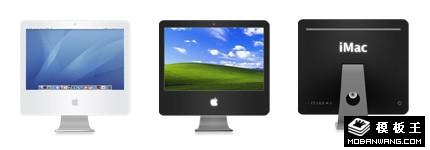 iMac系列显示器图标