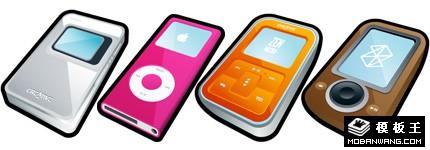 卡通MP3系列图标