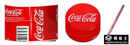 可口可乐包装图标