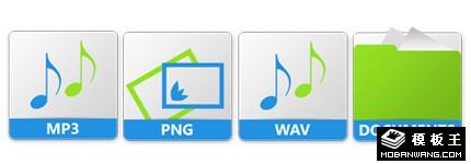 简约风格音乐系列图标