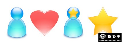 MSN水晶系列图标