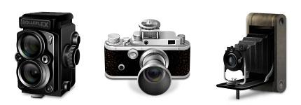 经典老相机透明图标