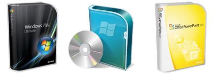微软软件包装透明图标
