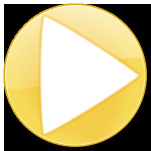 金色圆型水晶按钮透明电脑图标,png_模板王图标大全