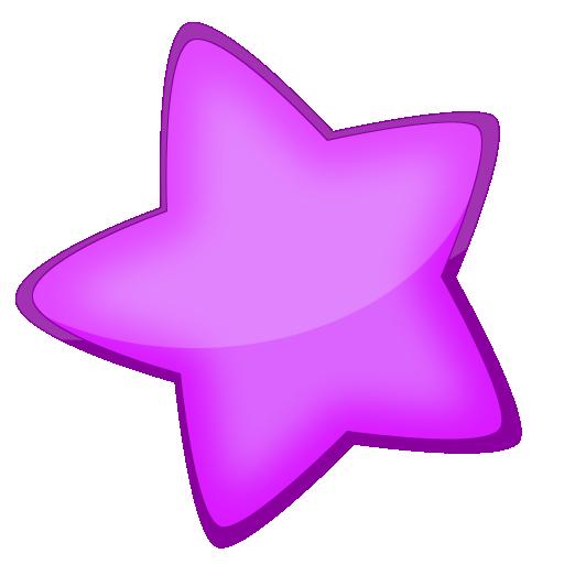 超大卡通可爱型星星透明图标,png_模板王图标大全