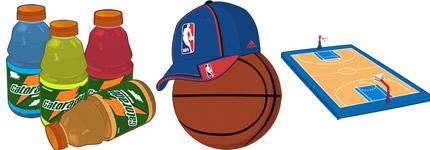 NBA篮球运动图标