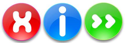 系统常用操作提示按钮系列图标