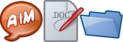 卡通vista风格系统电脑图标