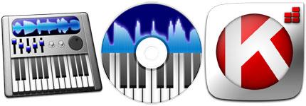音乐与声音主题图标