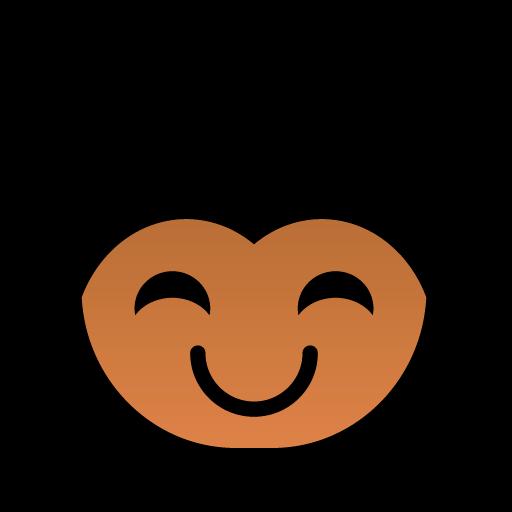 可爱非洲黑人小朋友表情图标,png_模板王图标大全
