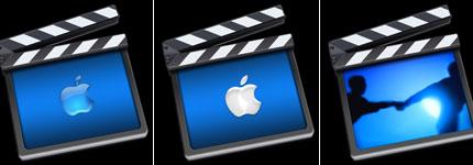 iMovie电影透明图标