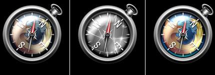 苹果BrowserCompass系列透明图标