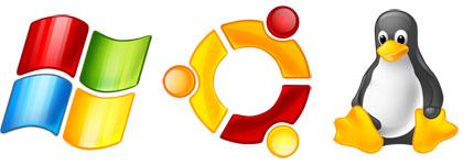 主流操作系统常用图标