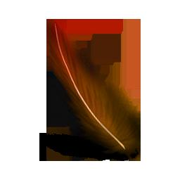 网页制作小图标_photoshop彩色羽毛图标,PNG_模板王图标大全
