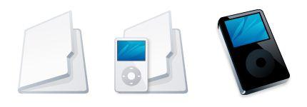 iPod文件夹图标