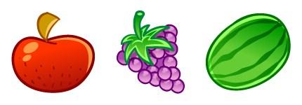 卡通水果图标