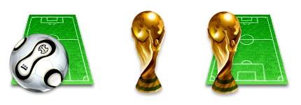 世界杯足球图标
